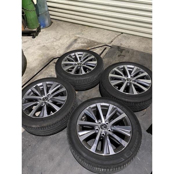 Lexus ES原廠鋁圈+米其林輪胎