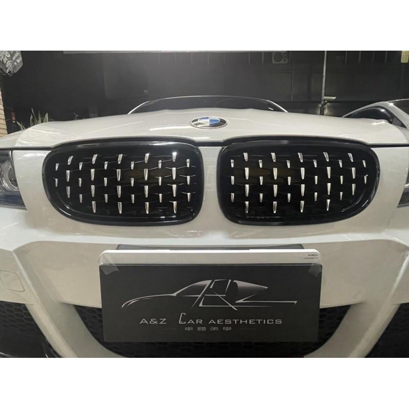 BMW 流星雨水箱罩滿天星中網寶馬水箱護罩(F30/F35/F52/F45/F10/F18/G30/G38/E90)