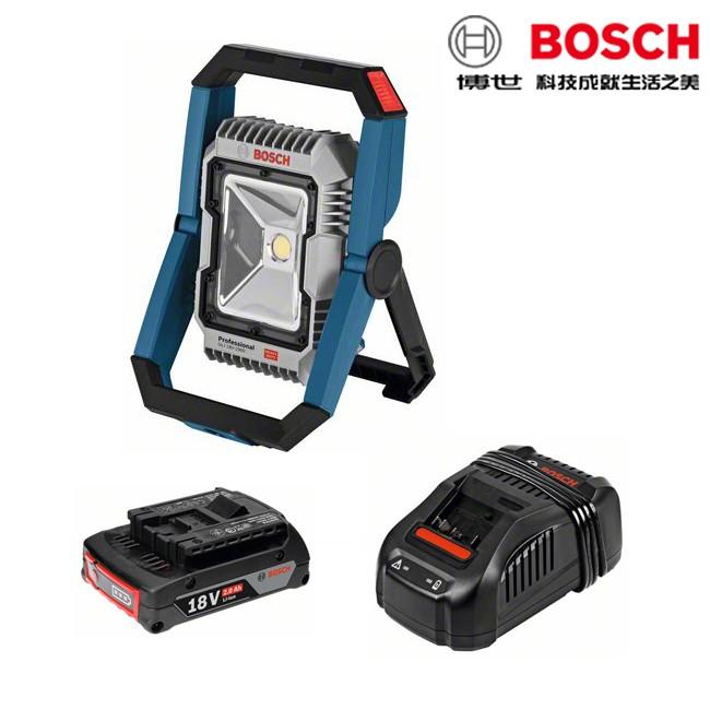 BOSCH博世 18V鋰電明燈 GLI 18V-1900 探照燈 工作燈 充電式 工地 機房 密室 手電筒