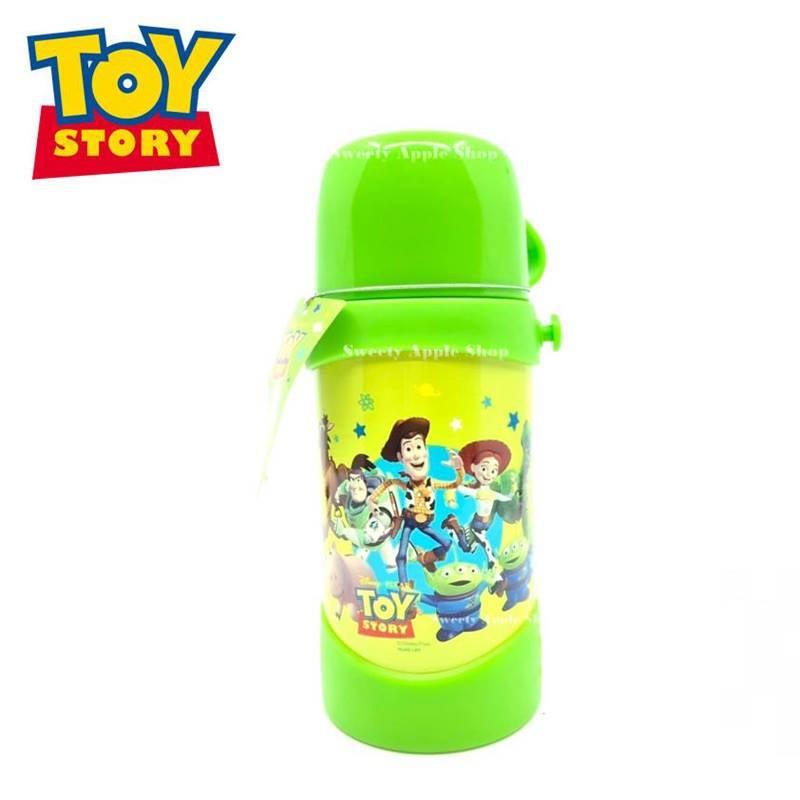 DISNEY 迪士尼 玩具總動員 日本限定保溫水壺 不鏽鋼 2用 保溫杯壺 保溫水壺 保冷壺 兒童水壺 (附背帶)