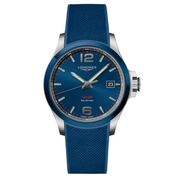 LONGINES浪琴錶L37294969康卡斯VHP/藍面43mm