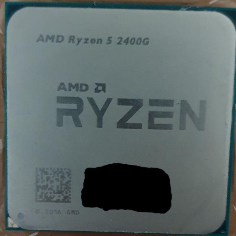 AMD Ryzen 5 2400G R5-2400G CPU
