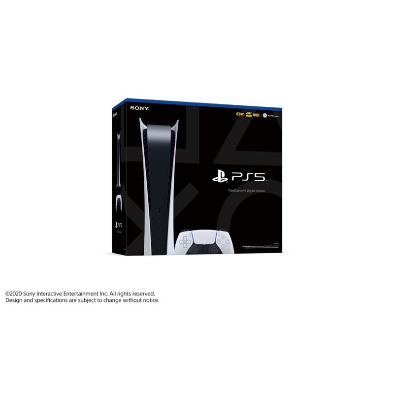全新現貨 PS5 數位版 台灣公司貨 台中可面交取貨