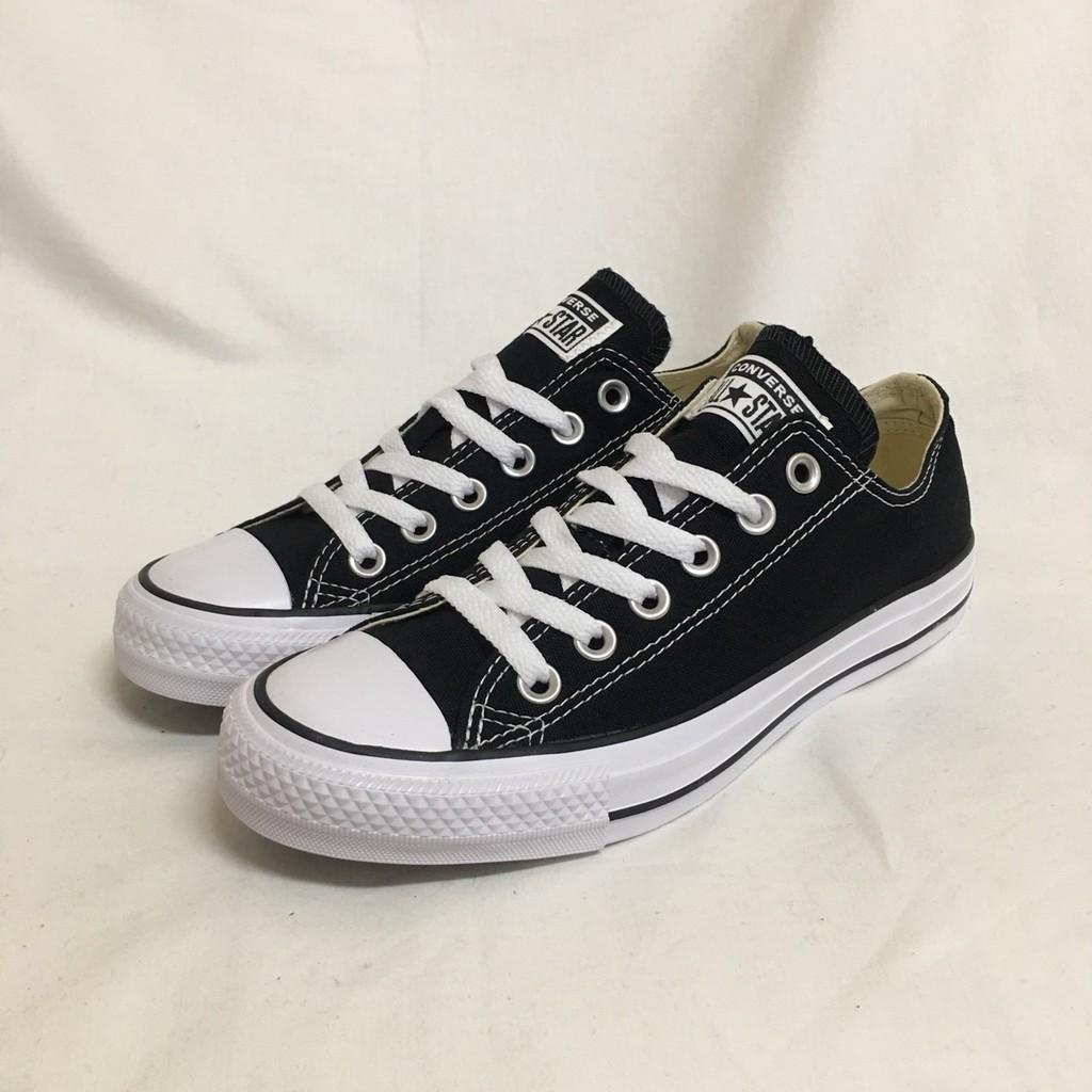 SHOEBOX Converse Chuck Taylor All Star 低筒 帆布鞋 黑/白 M9166C