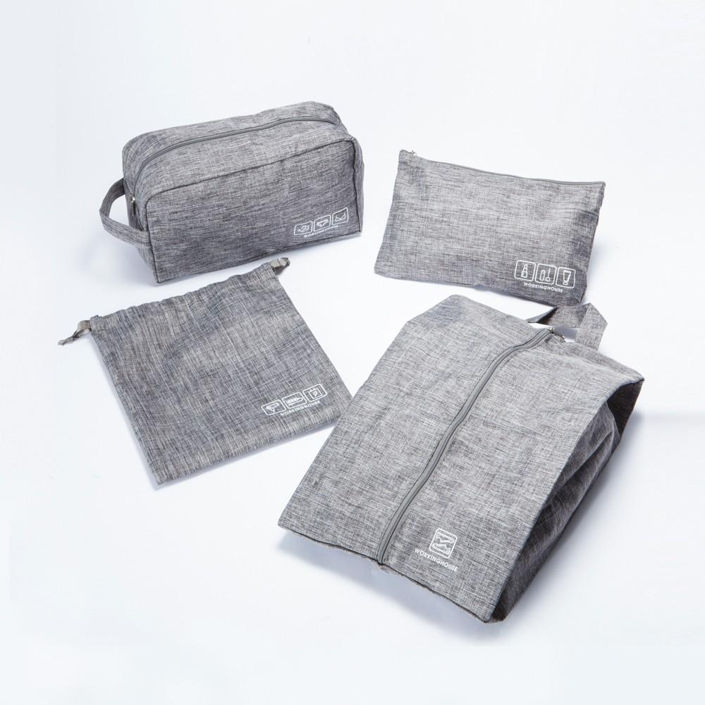 【生活工場】Gray生活旅記衣物收納4件組