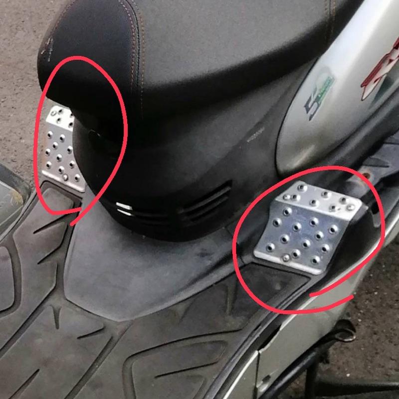 [二手]Rv180鋁踏板x2