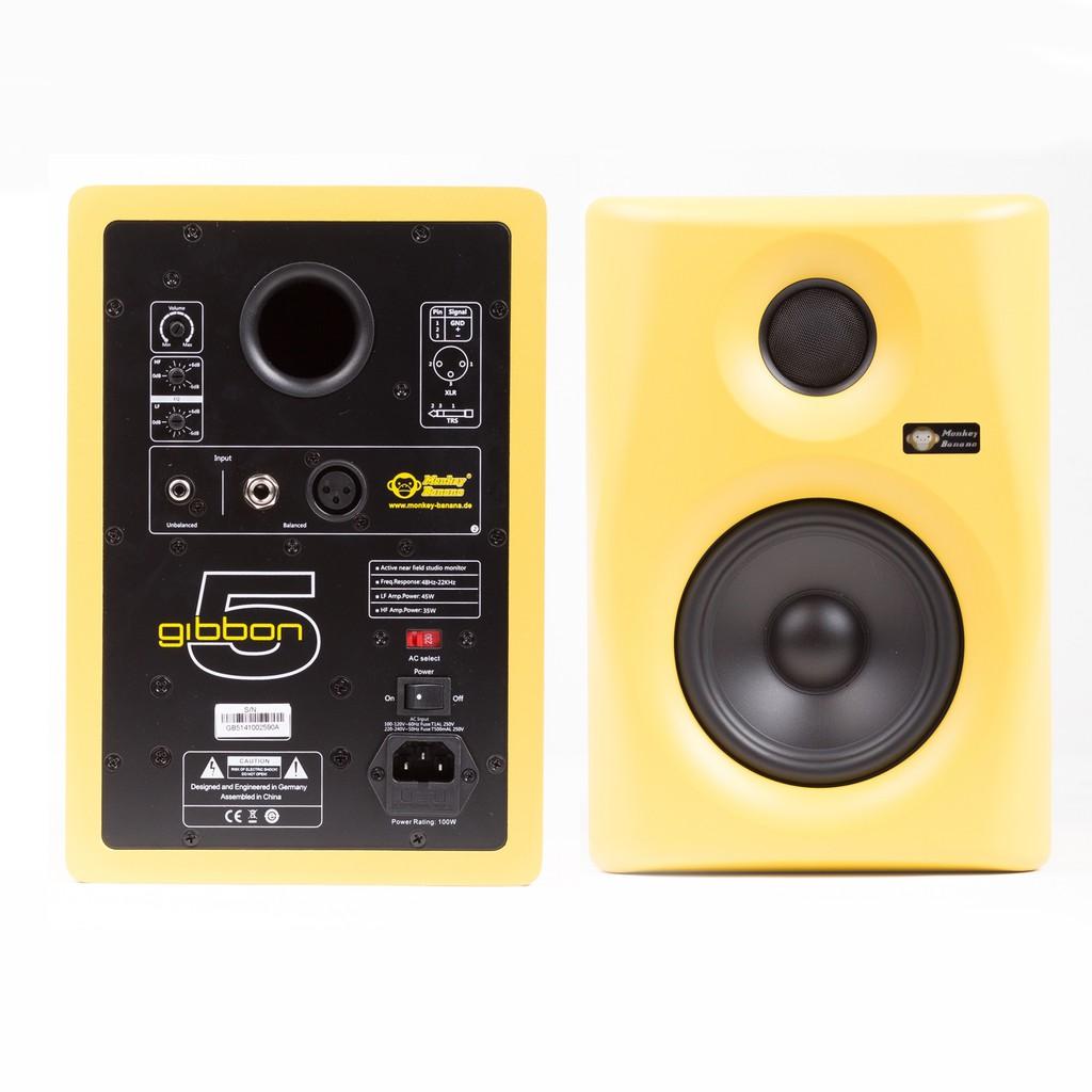 [Ghost DJ Studio]Monkey Banana Gibbon 5 五吋主動式監聽喇叭一對(黑/紅/黃/白)