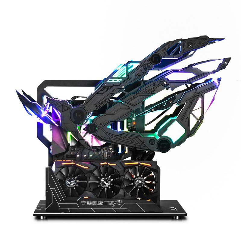(12)寧美國度RTX2080Ti信仰之眼ROG高配MOD游戲組裝臺式電腦電競主機玩家國度ITX整機發燒吃雞主播網吧專用