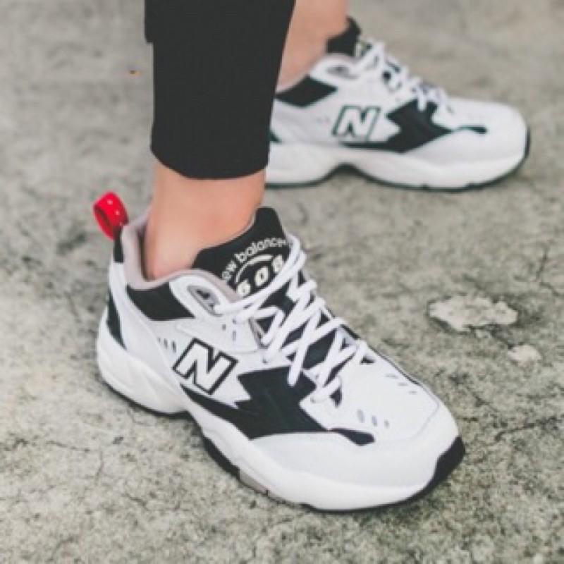 New balance NB WX608RB1 NB608 老爹鞋 白黑