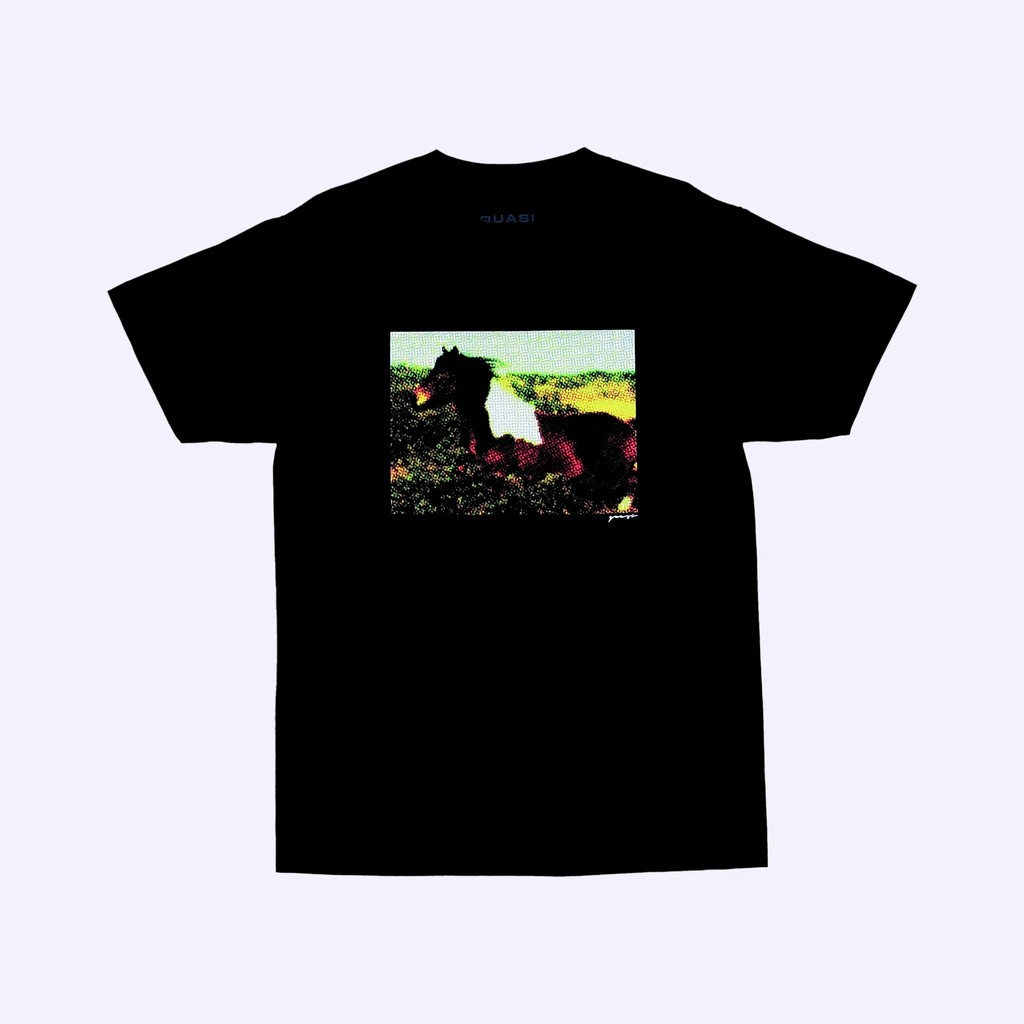 QUASI BLAZE TEE BLK 短袖T恤【BAMBOOtique】