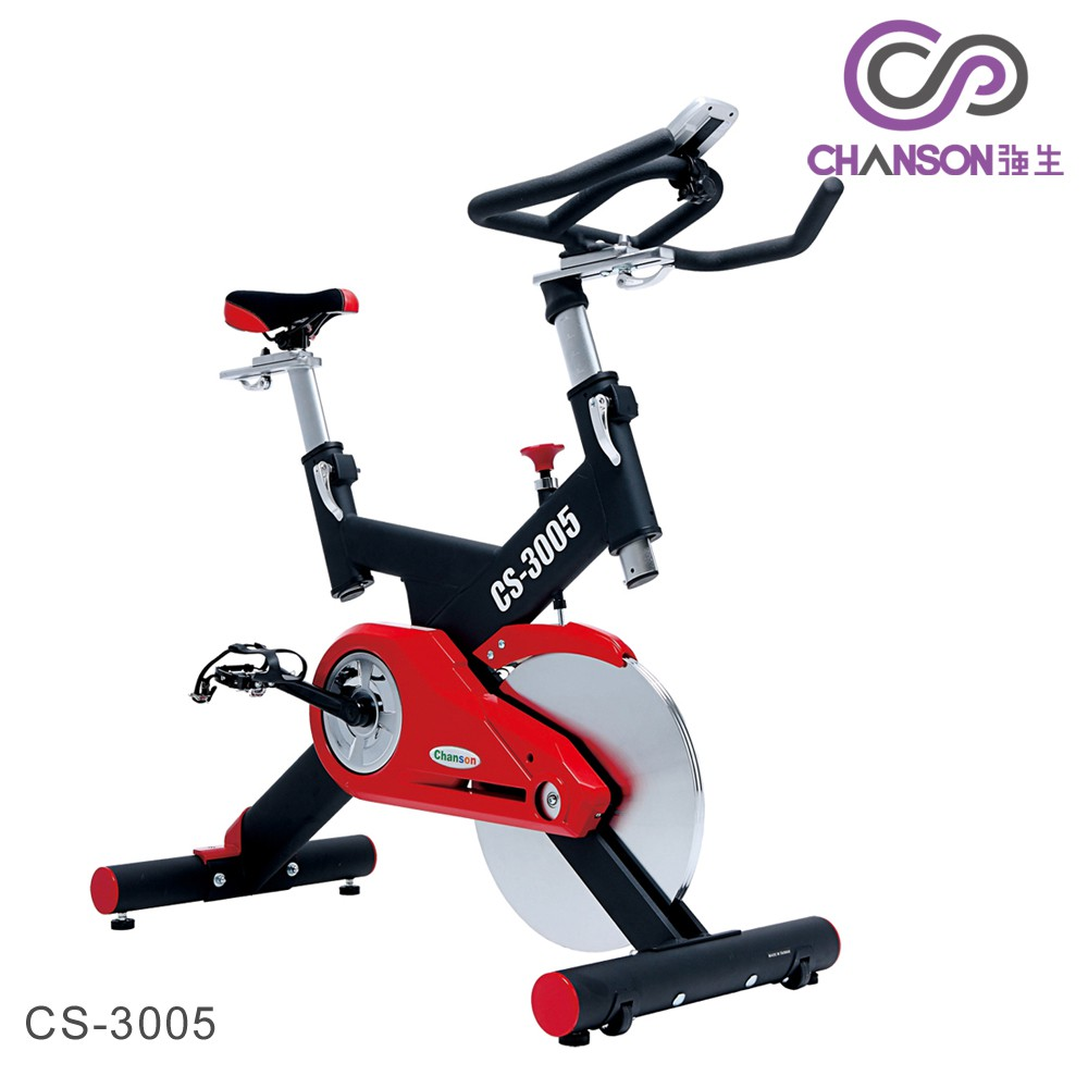 (強生CHANSON) CS-3005 飛輪競速健身車