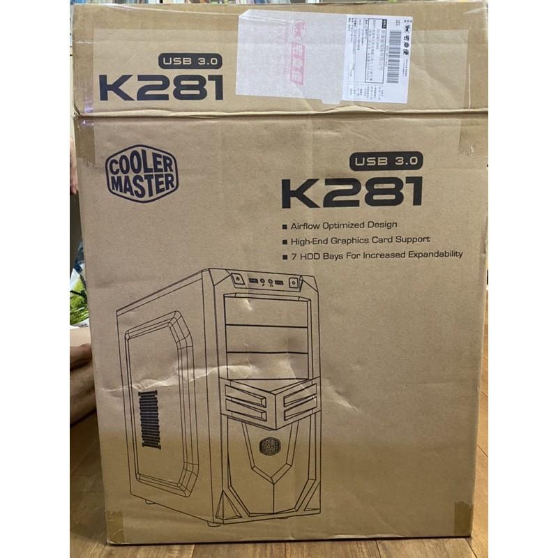 coolermaster k281機殼 全漢 皇鈦極550w