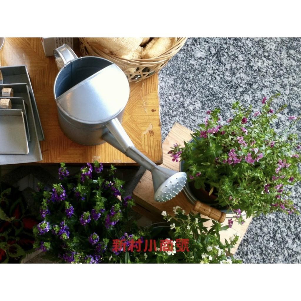 傳統手工亞鉛(鋼板鍍鋅)花灑 無毒無鉛 澆花器 手工 澆水〔新村小商號〕