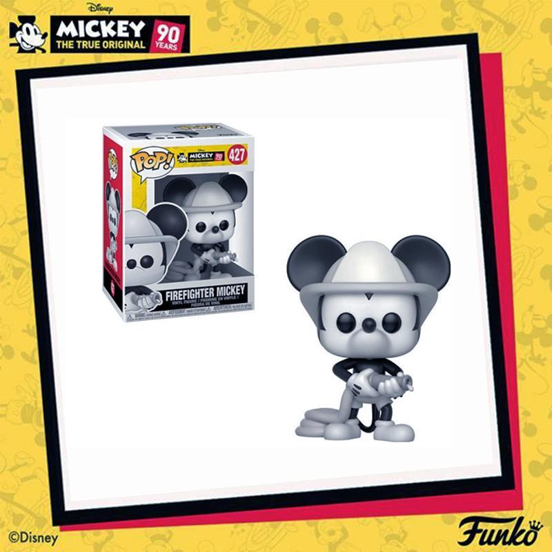 Artlife ㊁ FUNKO POP Mickey Anniversary Firefighter 黑白 米奇 消防員