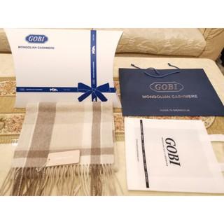 加長加厚款 GOBI 100%喀什米爾純羊毛披肩圍巾 3個花色 精美禮盒 尾牙過年送禮 臺北市