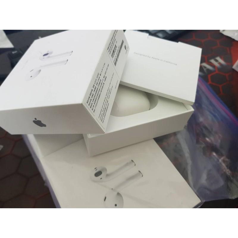 福利品如新保固21.9月 蘋果 AirPods2 二代 無線耳機無線充電盒 A2031 A1938 MRXJ2TA