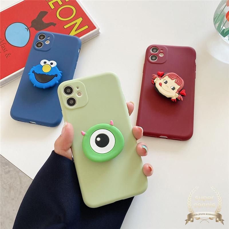 卡通可愛 Popsockets 手機殼 Iphone 12 Pro Max Iphone 11 6 6s 7 8plus