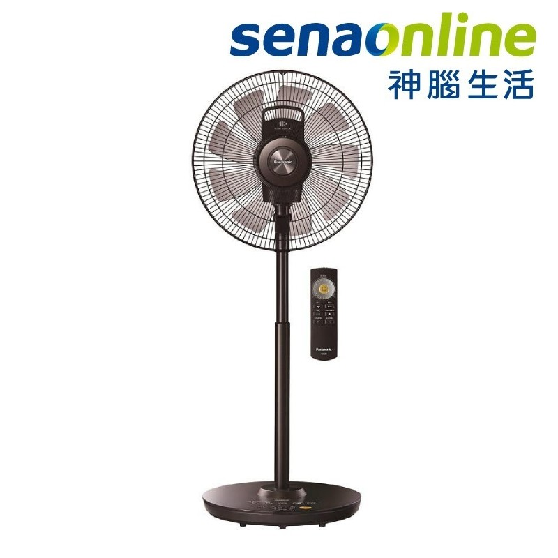 Panasonic 國際 DC扇 清淨型 16吋 電風扇 F-H16EXD-K nanoeX 有效抑制99.9%新冠病毒
