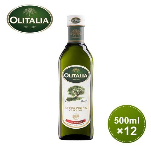 【奧利塔olitalia】特級初榨橄欖油500ml *12瓶_ A220009