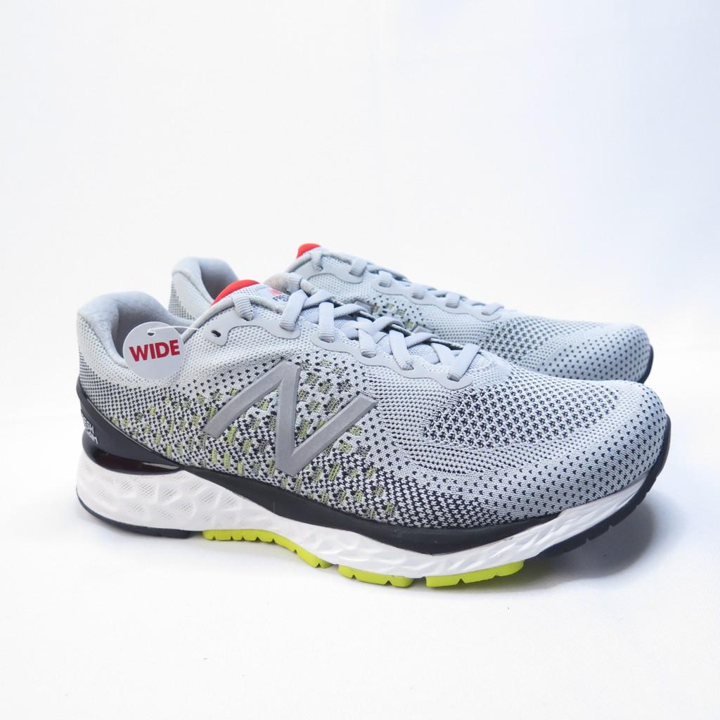 New Balance 慢跑鞋 運動鞋 公司正品 4E楦 M880G10 男款 灰【iSport愛運動】