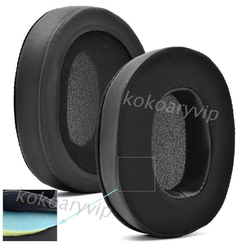 KOK 適用於Logitech G35 G332 G533 G633 G933 G935 G-PRO G433的耳墊