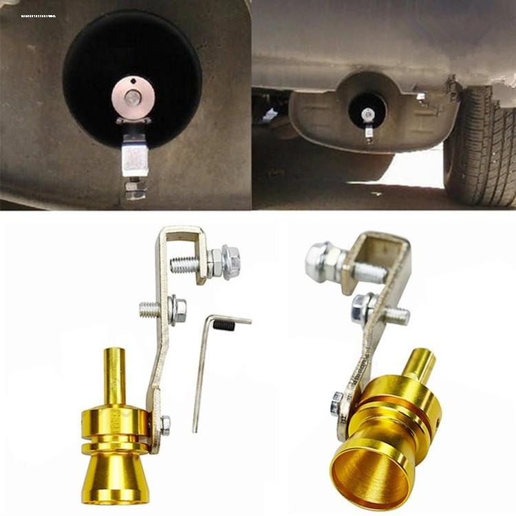 模擬器聲浪跑車尾喉裝飾改裝哨子變聲器渦輪排氣管口哨前衛浪跑