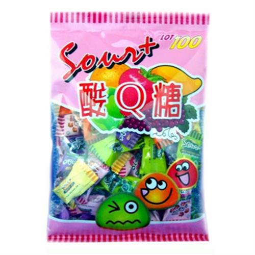 一百份 酸Q軟糖(200g/包)[大買家]