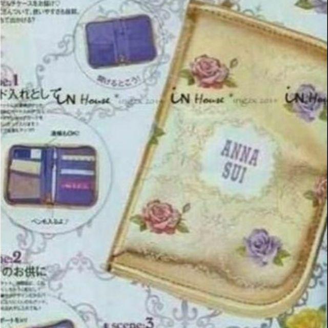 日雜附錄 Anna sui 安娜蘇證件包 卡包 護照夾 收納卡包