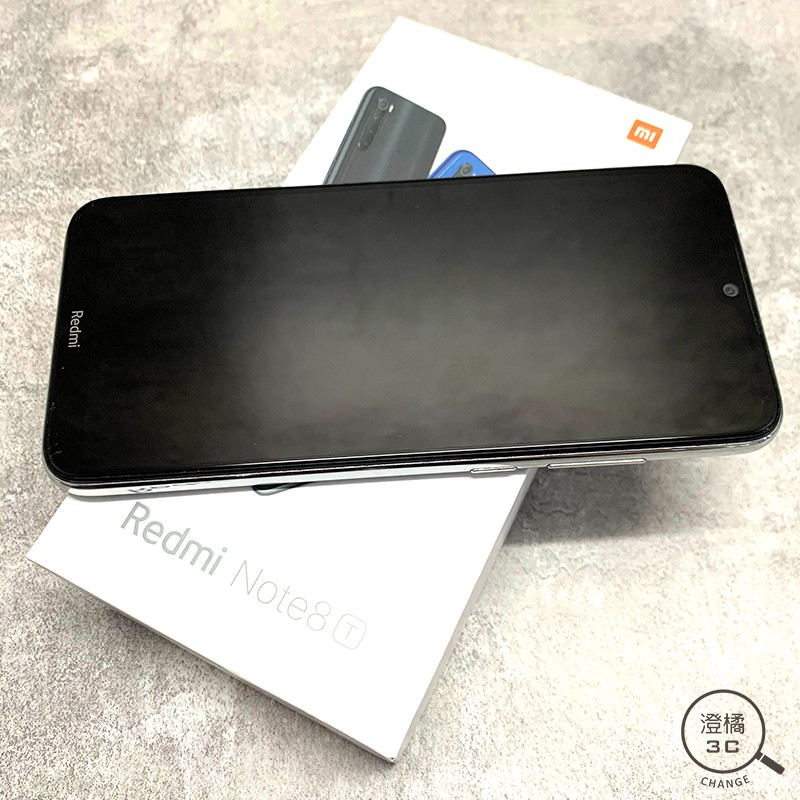 『澄橘』小米 紅米 Note 8T 3G/32G 32GB (6.3吋) 白 二手《歡迎折抵 手機出租》A48839