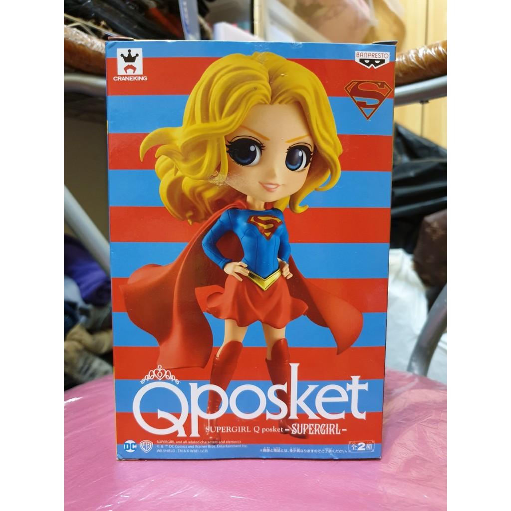 正版正貨 漫威驚奇隊長 COMICS Characters QPosket SUPERGIRL Carol卡蘿超人➯異色