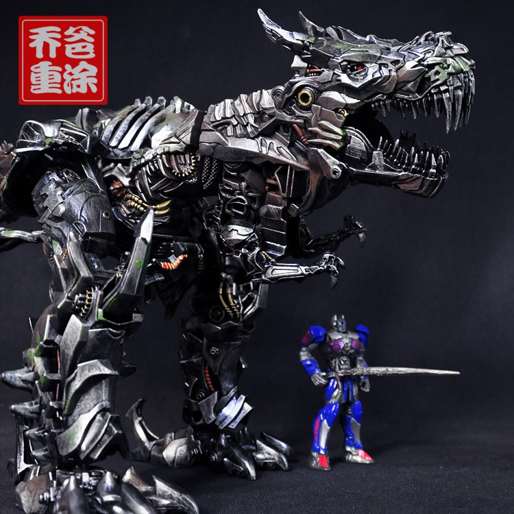 ┋喬爸重涂 變形金剛 電影 Studio Series SS07 鋼索 鋼鎖 L級 恐龍