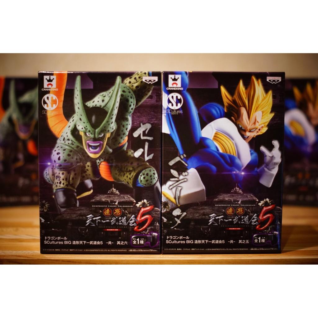 日本市場正規版 日本境內版 金證 造形天下一武道會5 達爾 賽魯 二隻一套  日版