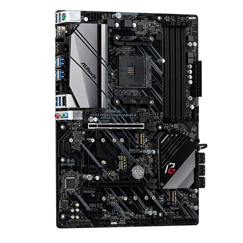 華擎X570 Phantom Gaming 4主板可搭配R5 3600 3700X CPU