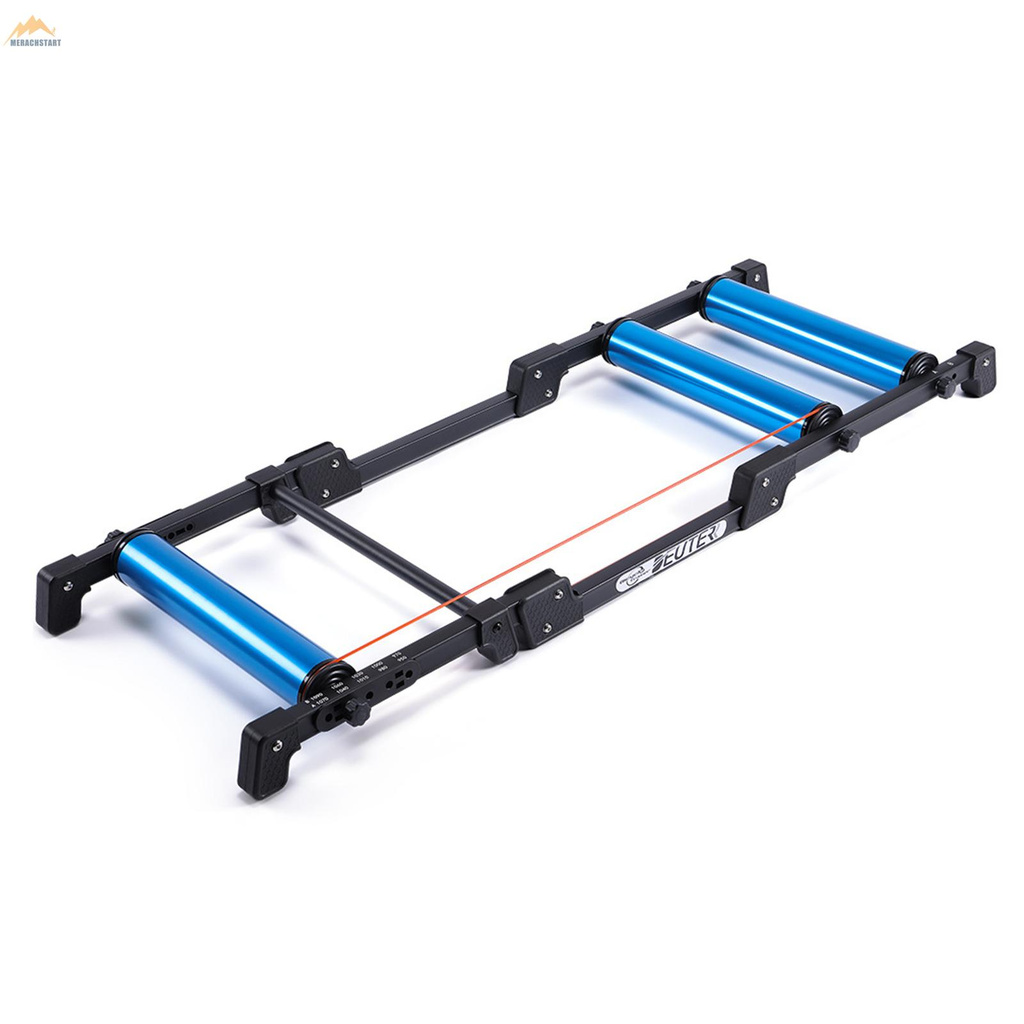 DEUTER 自行車滾筒騎行台可調節訓練GT-03藍色