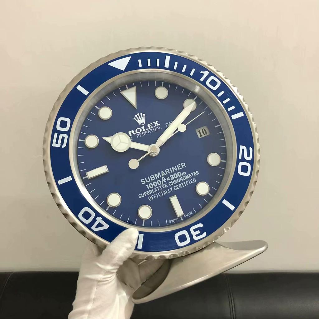 Rolex-勞力士 SUB table clock勞力士水鬼臺鐘系列 座鐘·掛鐘·時鐘·墻鐘 多用 藍黑綠水鬼臺鐘