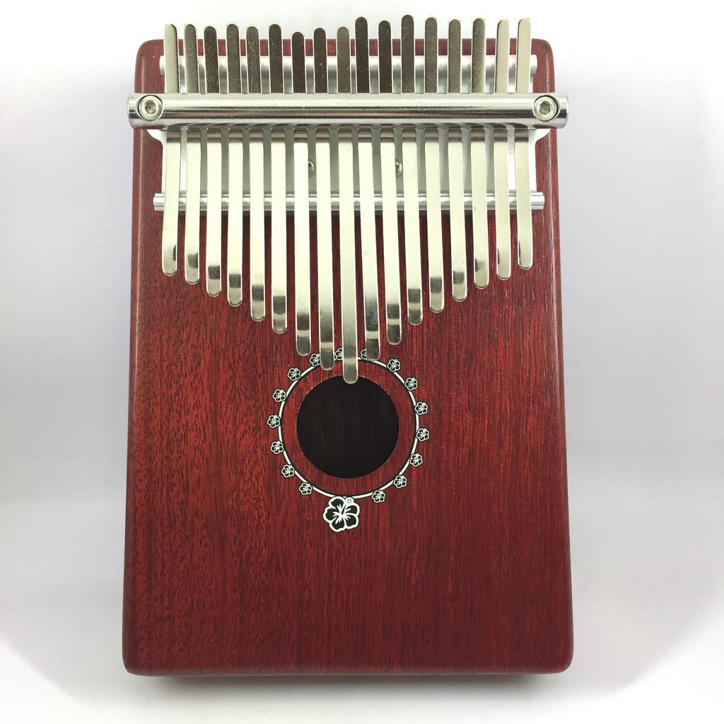 Pukanala 拇指鋼琴/卡林巴 扶桑花款(紅色) 附贈攜帶琴袋 WL Music 宛伶樂器