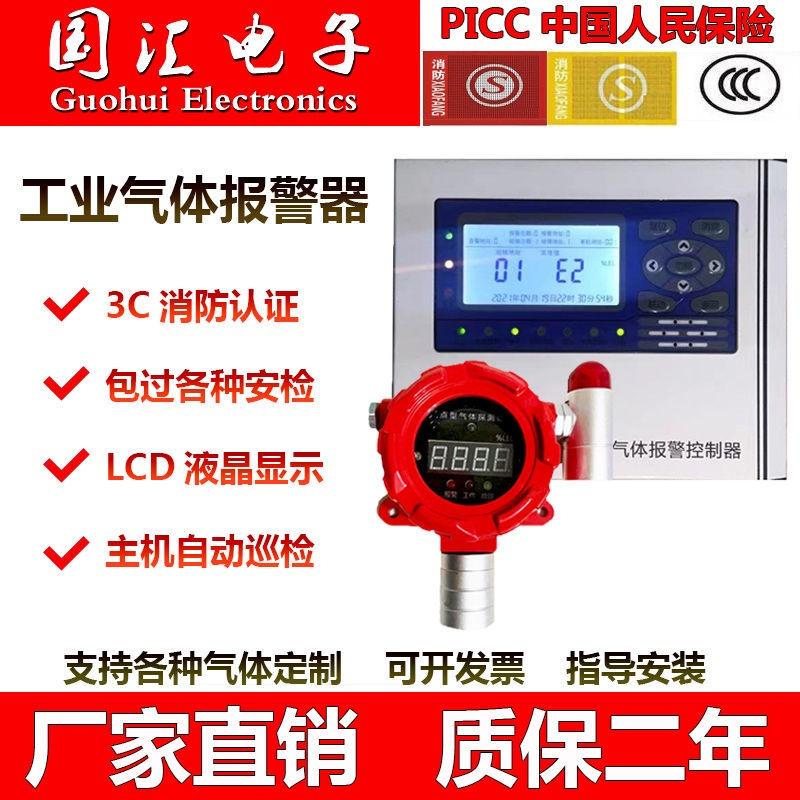 天然氣可燃噴漆酒精液化氣有毒氧氨氯氣工業防爆報警器檢測儀