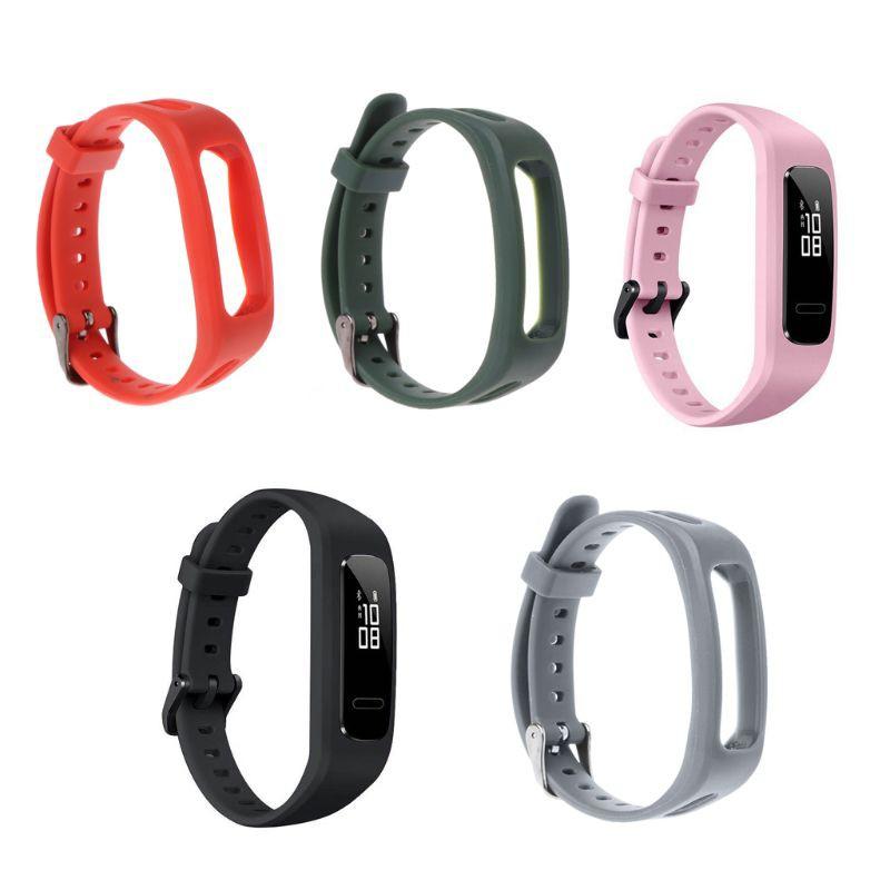 華為 3e / Honor Band 4 跑步版的腕帶錶帶 Tpu 可調手鍊運動更換