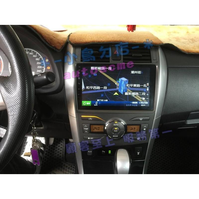 (小鳥的店)豐田 ALTIS 10代 10.5代 2008-12 安卓機 9吋 音響主機 安卓 導航 CONVOX