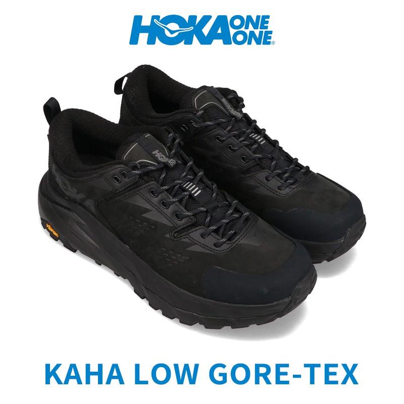 HOKA ONE ONE KAHA Low gtx GORE-TEX 防水健行鞋 登山鞋 黑 台灣公司貨