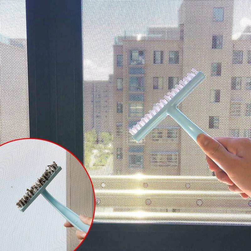 防蚊紗窗專用清潔刷 擦窗器隱形紗窗網除塵刷子 窗戶窗槽凹槽清潔器
