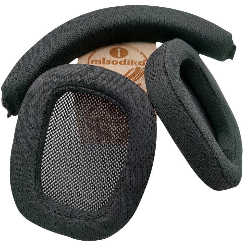 misodiko耳機替換耳罩頭梁條 適用於Logitech羅技 遊戲耳機G533