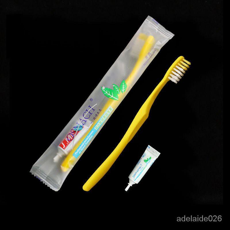 台灣下殺價包郵酒店一次性牙刷牙膏套裝賓館客房洗漱用品專用二合一牙具批发 8M51