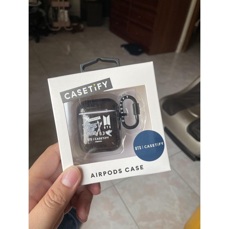 BTS casetify AirPods case 二代耳機殼 黑色