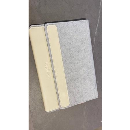 羅技logitech 筆電保護套原廠 羅技 Logitech 羊毛氈 鍵盤平板套 筆電套 收納袋 鍵盤包 防塵包