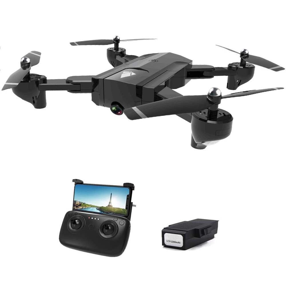 跨境4K航拍無人機 光流雙攝像頭超長續航 遙控折疊四軸飛行器
