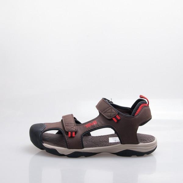 TEVA 兒童 Toachi 4 多功能 護趾 大童涼鞋-咖 110427JCBKR