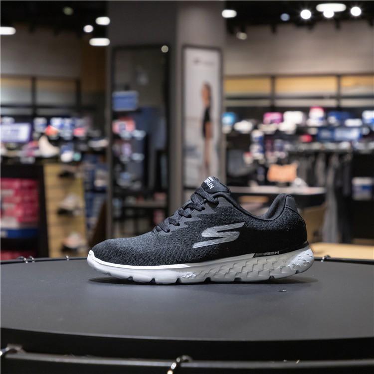 Skechers斯凱奇思克威爾繫帶情侶鞋 輕質透氣健步 慢跑運動鞋14804
