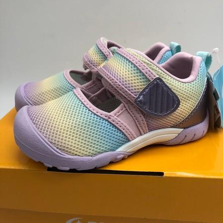 《日本Moonstar》護趾涼鞋 速乾 HI系列機能款-紫粉(14-19.0cm)M2254121SS