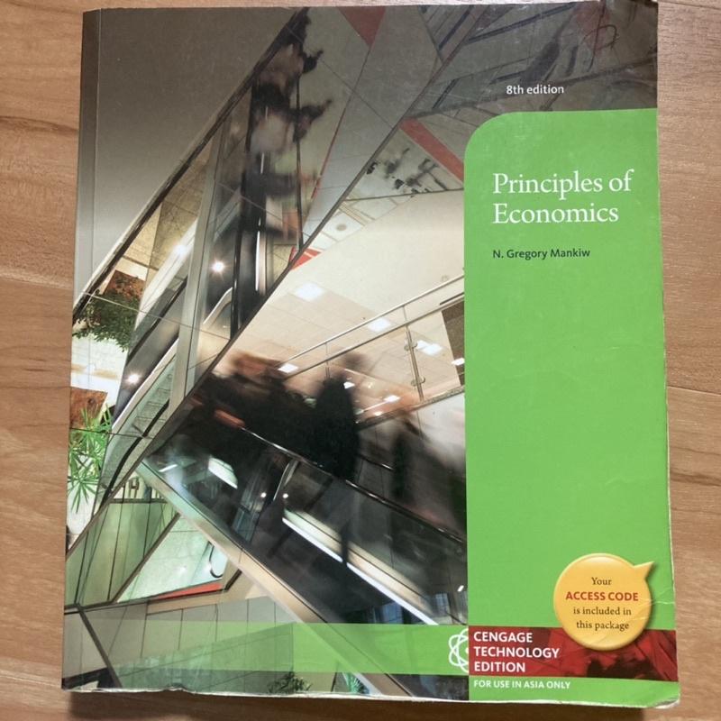 經濟學原理principles of economics 第8版